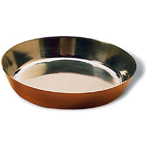 matfer bourgeat copper tin lined  tart pan