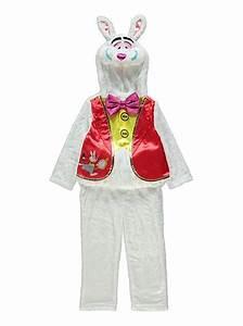 Disney Alice In Wonderland White Rabbit Fancy Dress ...