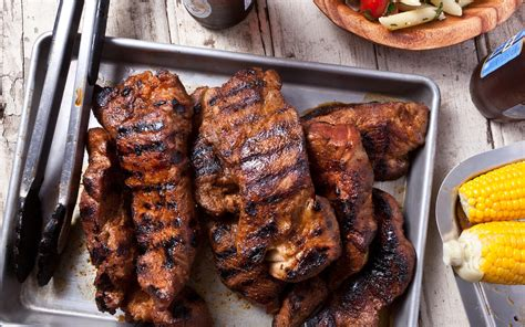 Grilled Countrystyle Pork Ribs Recipe Chowhound