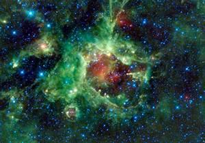 Rainbow Nebula Galaxy Background - Pics about space