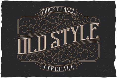 style label typeface display fonts creative market