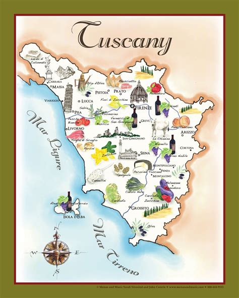 towels for sale the bounty of tuscany food map