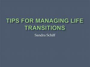 Tips for Managing Life Transitions