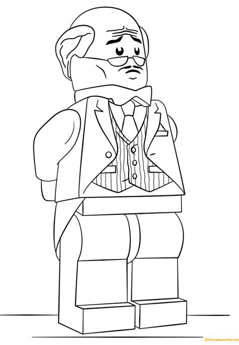 41+ Lego Robin Coloring Pages Background