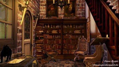 frau engel witch house sims  downloads