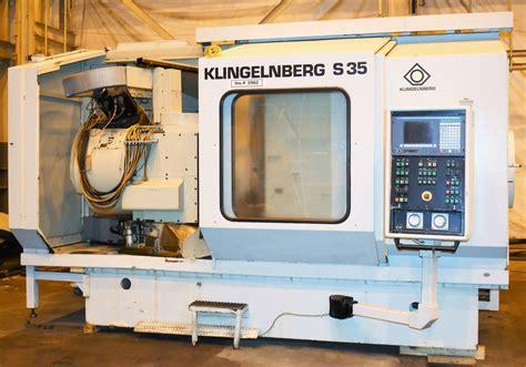 For Sale Klingelnberg S35 10 Axis Cnc Spiral Bevel
