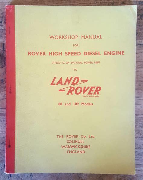 Parts Manual Land Rover
