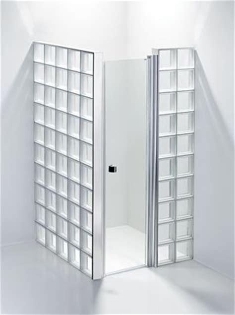 glasblokken douchewand leuk voor in huis pinterest