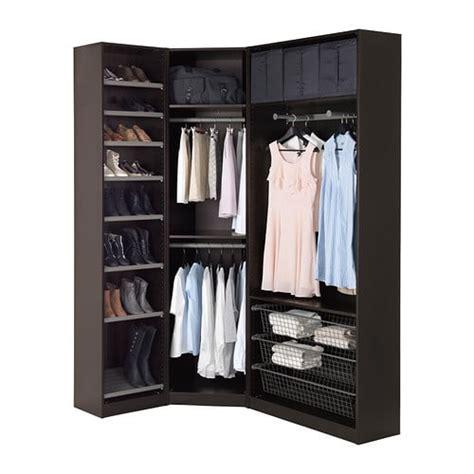 armoire chambre blanche ikea dressing angle