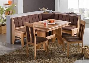 New BALI Eckbank Kitchen Dining Corner Seating Bench Table