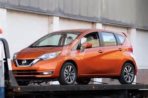 Cazado el Nissan Versa Note 2018 camino de su presentación ...