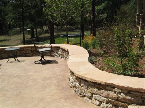 Patio Seating by Patio Seating Wall Seating Wall Outdoor Pit