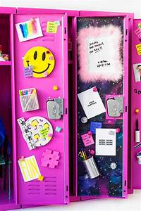 DIY Locker Decor + Ideas! - Studio DIY