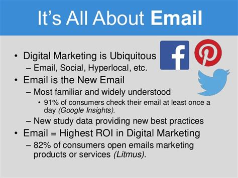 Digital Marketing Continuing Education by The Benefits Of Email Marketing For Continuing Education