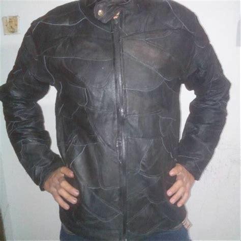 jual jaket kulit asli model sambung  lapak askana antik