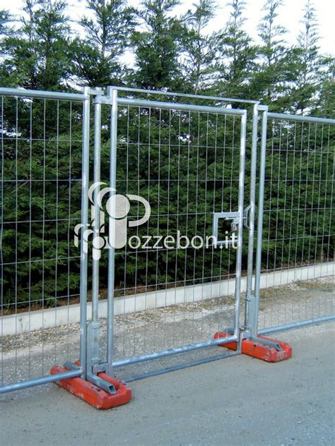 recinzioni mobili pannelli recinzione mobili e porta