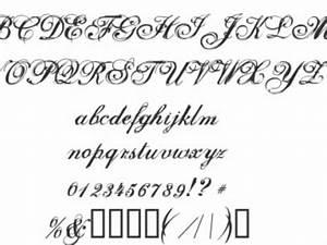 Tattoo Fonts Cursive - Tattoo Collections