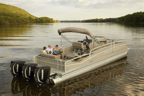 Pontoon Boats June Lake by Premier Releases Their Cabin Cruiser Pontoon