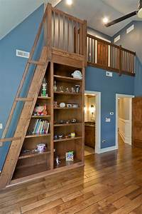 Studio Mirror With Lights Astounding Loft Ladder Ideas To Apply At Your Home Decohoms