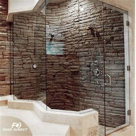 Remodel Your Bathroom With Faux Stone Panels  Faux Direct