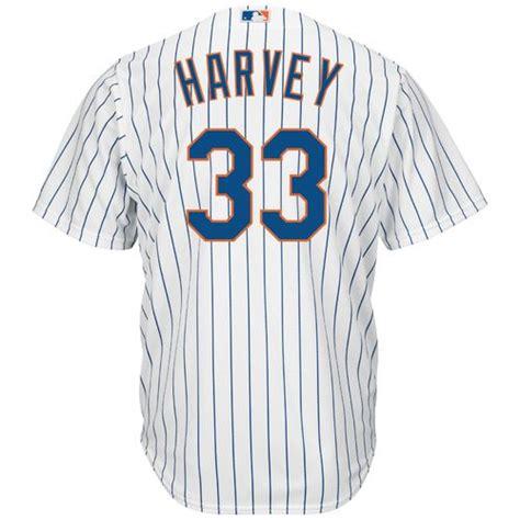 Majestic Men's New York Mets Matt Harvey #33 Cool Base