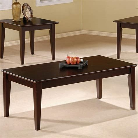 Check out this curated list of top 10 coffee table sets 2019. Coaster Rupard 5880 Brown Wood Coffee Table Set - Steal-A-Sofa Furniture Outlet Los Angeles CA