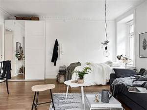 decordots: Cosy vibes in a small Scandinavian style apartment