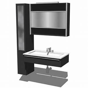 Lucilla Bathroom 3D Model FormFonts 3D Models Textures