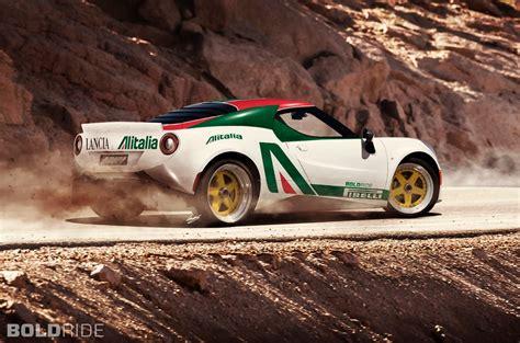 Modern Rally Cars by Alfa Romeo 4c Based Modern Lancia Stratos Rally Car