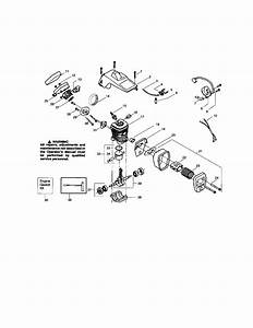 Shield  Cylinder  Crankshaft Diagram  U0026 Parts List For Model