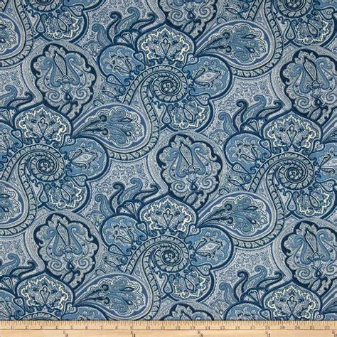 sun fabric waverly sun n shade paddock shawl indigo discount designer fabric fabric com
