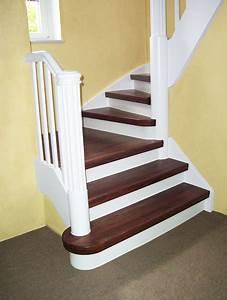 Holz Treppenstufen Erneuern : wie kann ich meine treppenstufen renovieren ~ Markanthonyermac.com Haus und Dekorationen