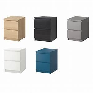 Ikea Table De Nuit : ikea kommode malm 2 schubladen nachttisch ablagetisch 5 farben ebay ~ Teatrodelosmanantiales.com Idées de Décoration