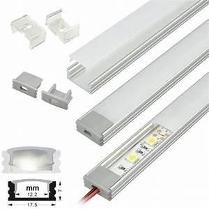 Led Strip Profil : led strip light fixtures aluminum extrusion channel strip lighting housing ~ Buech-reservation.com Haus und Dekorationen
