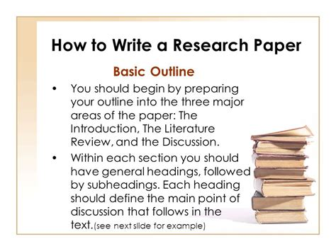 how to write a research paper ppt