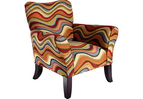 retro festival orange accent chair accent chairs orange