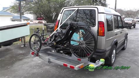 recumbent trike transport tray rack diy
