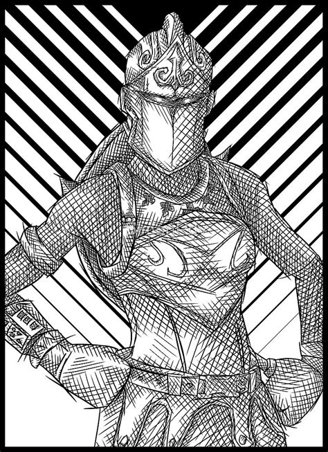 knight fortnite coloring pages print coloring