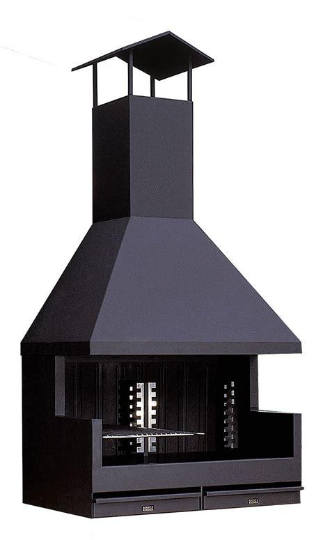 barbacoa metalica rocal modelo fornells exterior campana