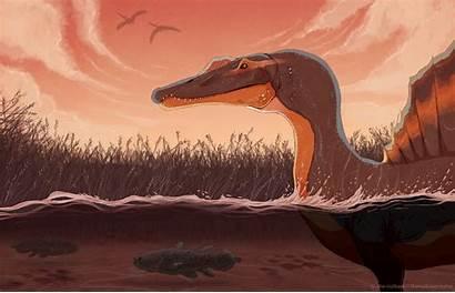 Spinosaurus Aegyptiacus Deviantart Nutkase Jurassic Park Paleoart