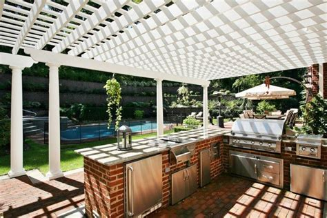outdoor bbq kitchen designs 14 outdoor kitchens that go way beyond grills 3817