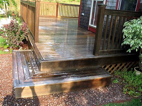 Restaining A Deck Preparation by Deck Restoration Deck Restaining Deck Cleaning In