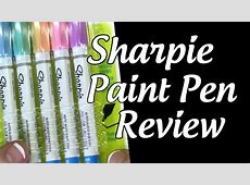 Sharpie Red Paint Marker Oil Based All 4-Sizes Kit Markers Broad Medium Fine