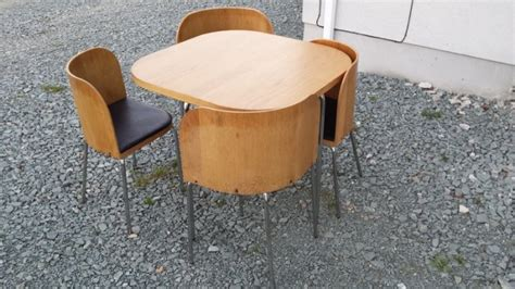ikea space saver table and 4 chairs for sale in duncormick
