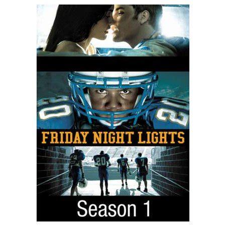 friday lights season 1 friday lights season 1 2006 walmart
