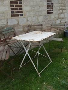 Table Bistrot Pliante : table de bistrot pliante table de jardin ~ Teatrodelosmanantiales.com Idées de Décoration