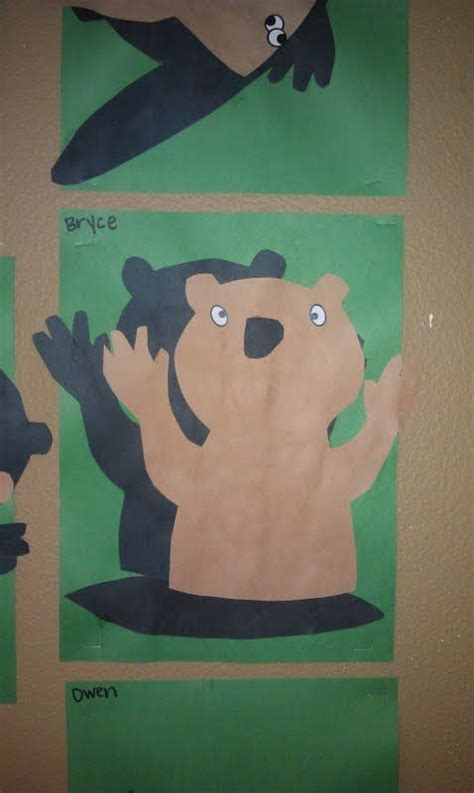 groundhog shadows craft for groundhog day maybe for 634 | 4439520a1839bed7509add864a9dc002
