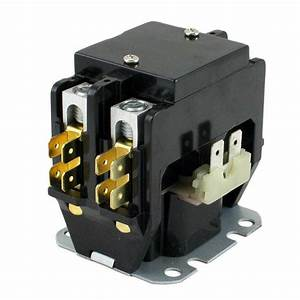 Contactor 2 Pole 40 Amps 24 Coil Voltage Dp2040a5003 C240a