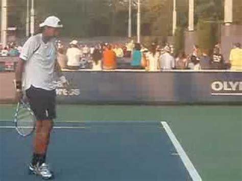 tallest female tennis player youtube