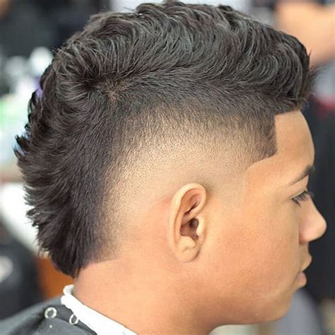 Faux Hawk Hairstyle by 30 Faux Hawk Fohawk Haircuts For S Hairstyles